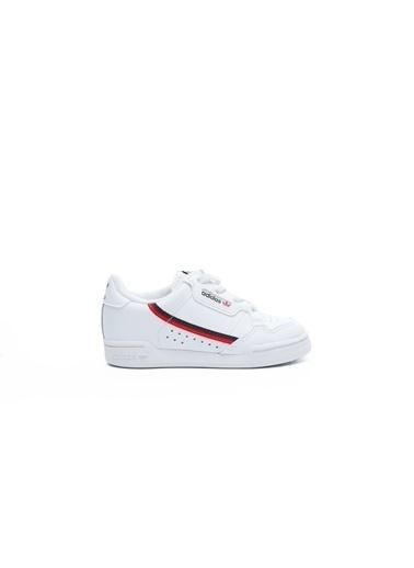 adidas Adidas Continental 80 Unisex Çocuk Snes Ayakkabı Beyaz